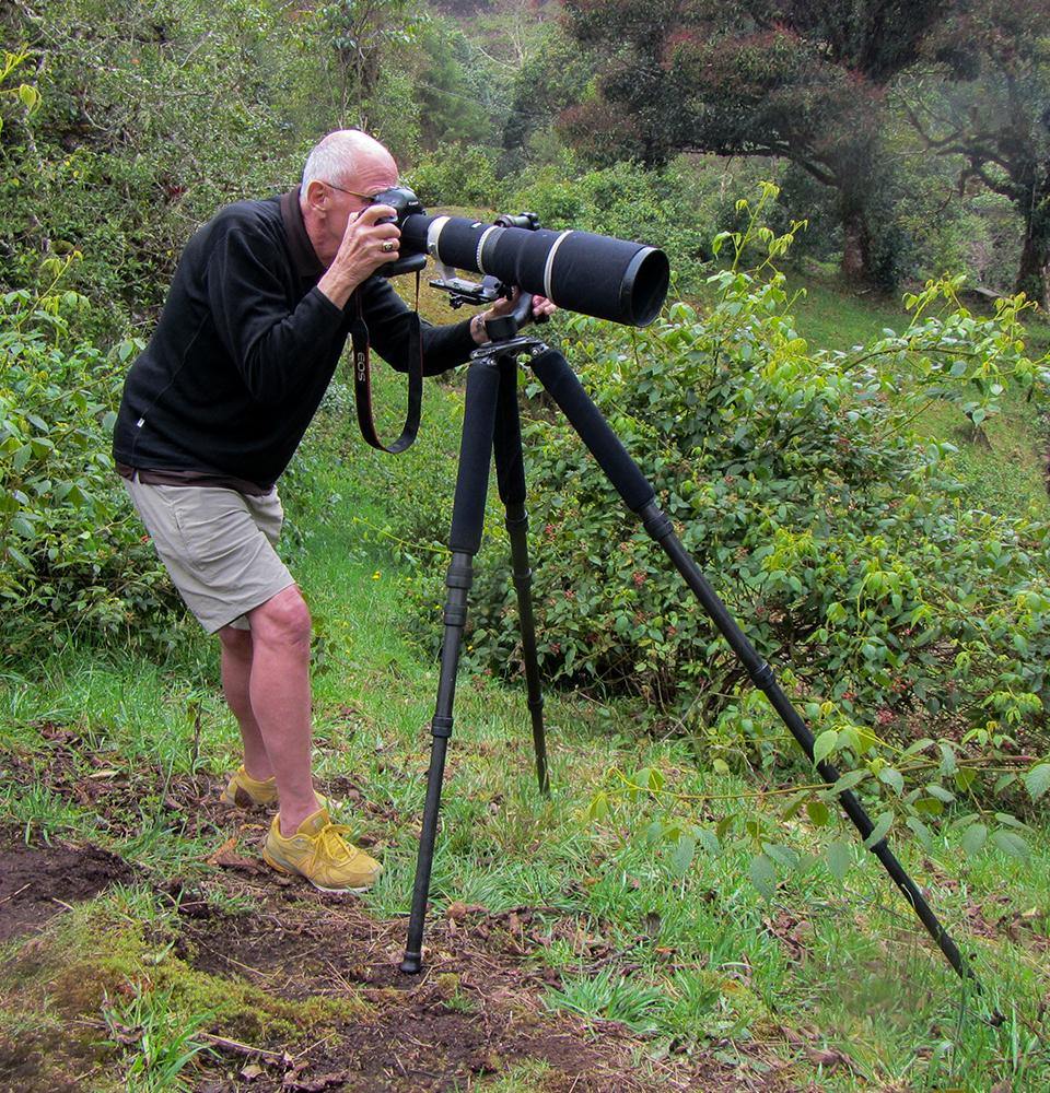 The Quetzal photographer